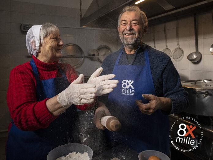 Campagna 8xmille 2021 Mensa Caritas Latina 1