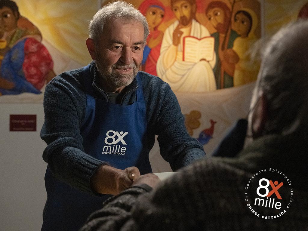 Campagna 8xmille 2021 Mensa Caritas Latina 2