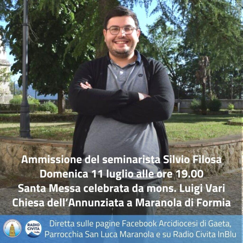 Diretta ammissione Silvio Filosa